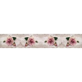Panel kuchynská linka - FT5693 - Ružové ruže