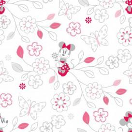 Tapeta na stenu - TA0017 - Minnie a kvety