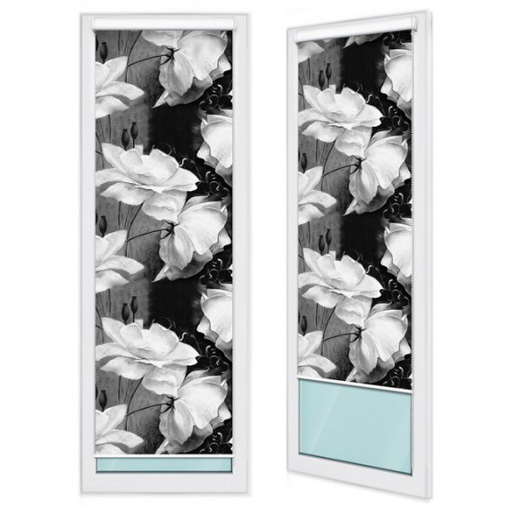 Fotoroleta - FR0012 - Biele kvety