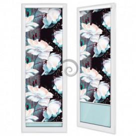 Fotoroleta - FR0013 - Bílé květy