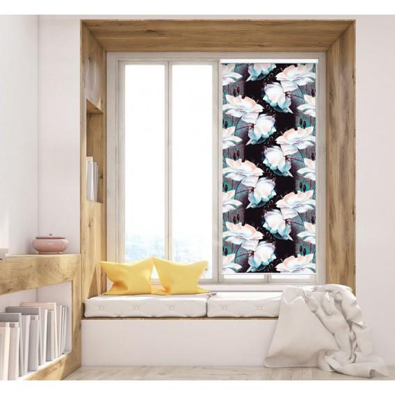 Fotoroleta - FR0013 - Biele kvety