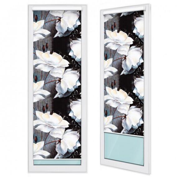 Fotoroleta - FR0014 - Biele kvety
