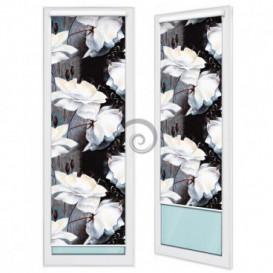 Fotoroleta - FR0014 - Bílé květy