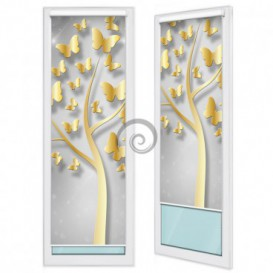Fotoroleta - FR0023 - Zlatý strom