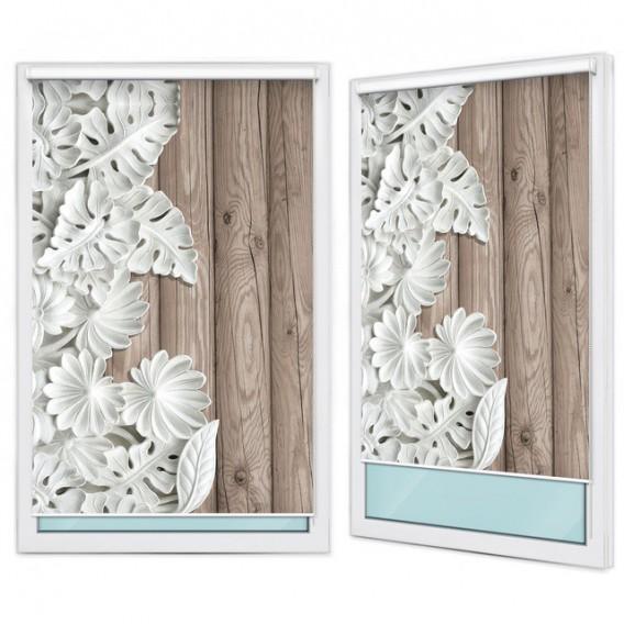 Fotoroleta - FR0048 - Abstraktné kvety