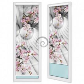 Fotoroleta - FR0060 - 3D gule a kvety