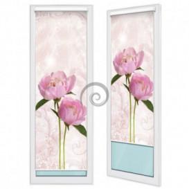 Fotoroleta - FR0090 - Ružové kvety