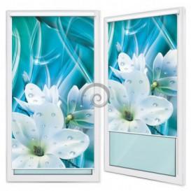 Fotoroleta - FR0119 - Bílé květy