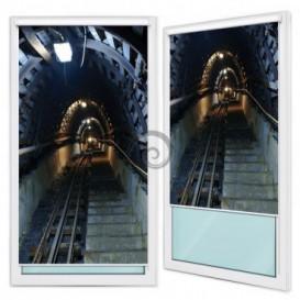 Fotoroleta - FR0123 - Tunel metra