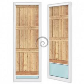 Fotoroleta - FR0156 - Dřevěná stěna
