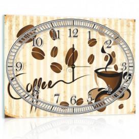 Nástenné hodiny - NH0002 - Šálka kávy