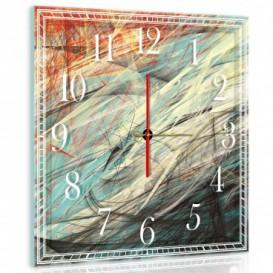 Nástenné hodiny - NH0003 - Abstraktná grafika