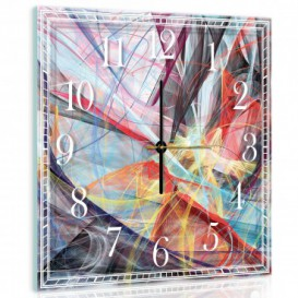 Nástenné hodiny - NH0004 - Abstraktná grafika