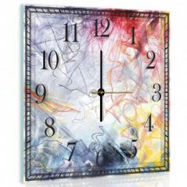 Nástěnné hodiny - NH0005 - Abstraktní grafika