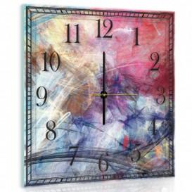 Nástěnné hodiny - NH0006 - Abstraktní grafika