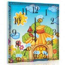 Nástěnné hodiny - NH0007 - Včelky