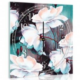 Nástenné hodiny - NH0016 - Kvety