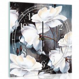 Nástenné hodiny - NH0017 - Kvety