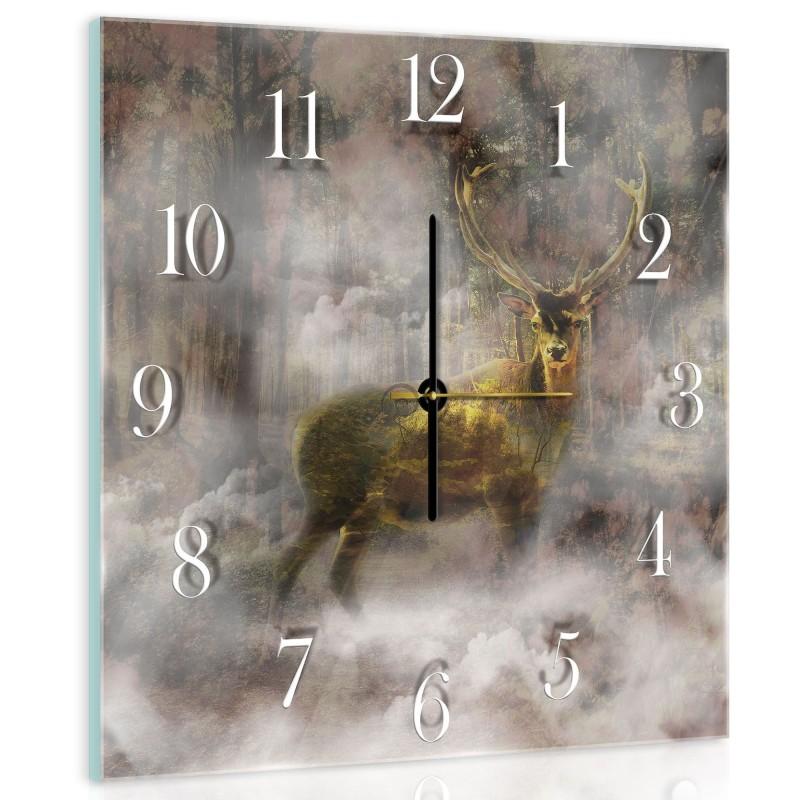 Nástenné hodiny - NH0018 - Jeleň 0ccfcb5e1cb