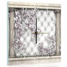 Nástenné hodiny - NH0019 - Kvety