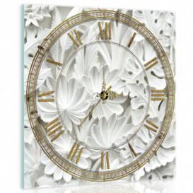 Nástenné hodiny - NH0022 - Kvety