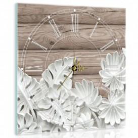 Nástenné hodiny - NH0066 - Kvety