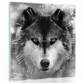 Nástěnné hodiny - NH0071 - Vlk