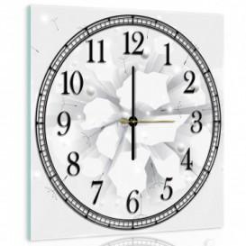 Nástenné hodiny - NH0074 - Kvety