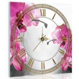 Nástenné hodiny - NH0079 - Kvety