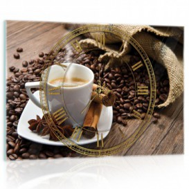 Nástenné hodiny - NH0088 - Káva