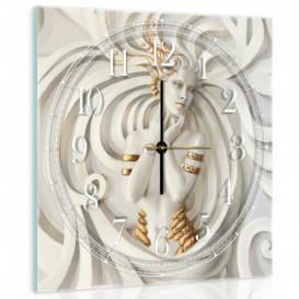 Nástenné hodiny - NH0119 - 3D žena