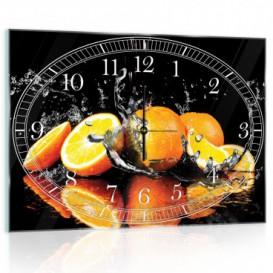 Nástěnné hodiny - NH0125 - Pomeranče