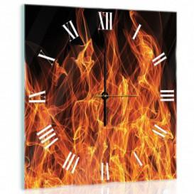Nástenné hodiny - NH0180 - Oheň