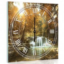 Nástenné hodiny - NH0203 - Vodopád