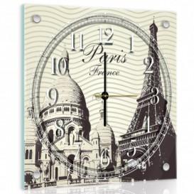 Nástenné hodiny - NH0211 - Paríž