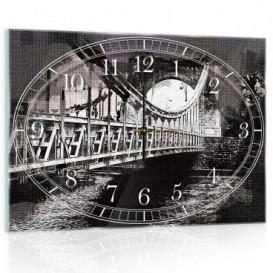 Nástenné hodiny - NH0225 - Most