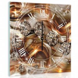Nástenné hodiny - NH0230 - Diamanty