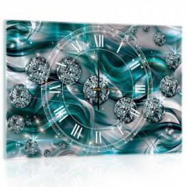 Nástenné hodiny - NH0232 - Diamanty