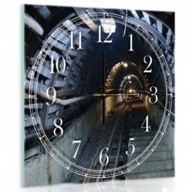 Nástenné hodiny - NH0239 - Tunel