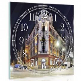 Nástenné hodiny - NH0241 - Nočné mesto