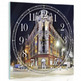 Nástěnné hodiny - NH0241 - Noční město