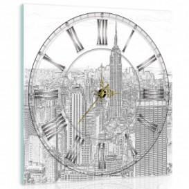 Nástenné hodiny - NH0246 - New York