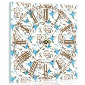 Nástenné hodiny - NH0252 - Vtáčiky
