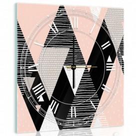 Nástenné hodiny - NH0257 - Geometrické tvary