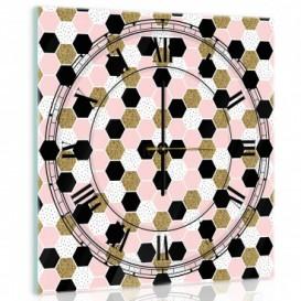 Nástenné hodiny - NH0258 - Geometrické tvary