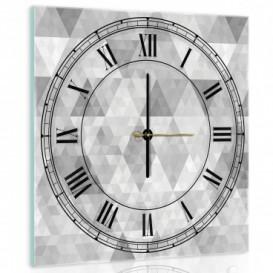 Nástenné hodiny - NH0267 - Trojuholníky