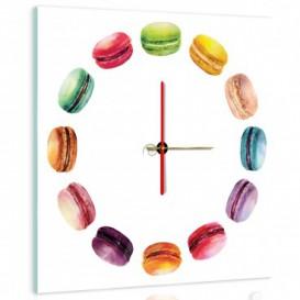 Nástěnné hodiny - NH0277 - Makronky