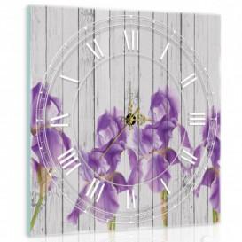 Nástěnné hodiny - NH0285 - Levandule