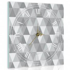 Nástenné hodiny - NH0286 - Trojuholníky