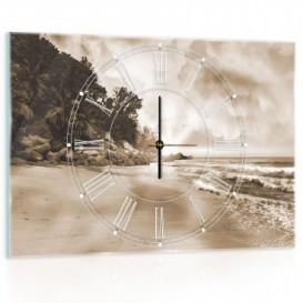 Nástenné hodiny - NH0289 - Tropický ostrov